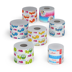 Toilet Paper made of Waste Paper