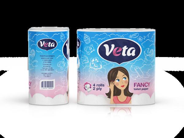 Veta Fancy Toilet Paper