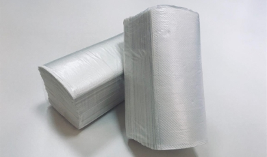 Our company has started a production of V-fold paper towels for using in dispensers